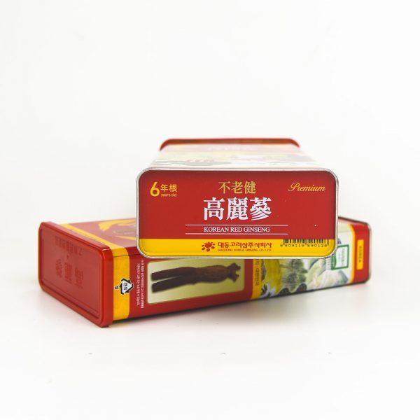 Hong sam cu kho 300g premium new 5