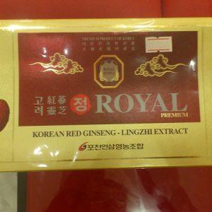 Cao hồng sâm linh chi Royal - Korean red ginseng Lingzhi extract