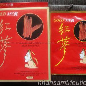 Mặt nạ hồng sâm hàn quốc GOLD MY (Korea Red Ginseng Mask)