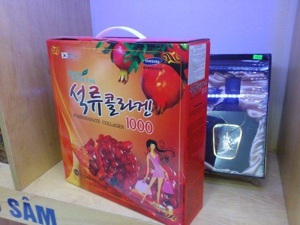Nước ép lựu Collagen Ganghwa Pomegranate Collagen 1000