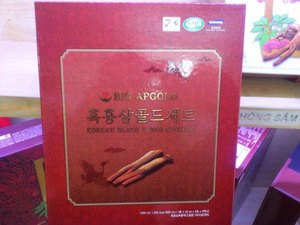 Tinh chất hắc hồng sâm Bio-science Korean Black & Red Ginseng Extract