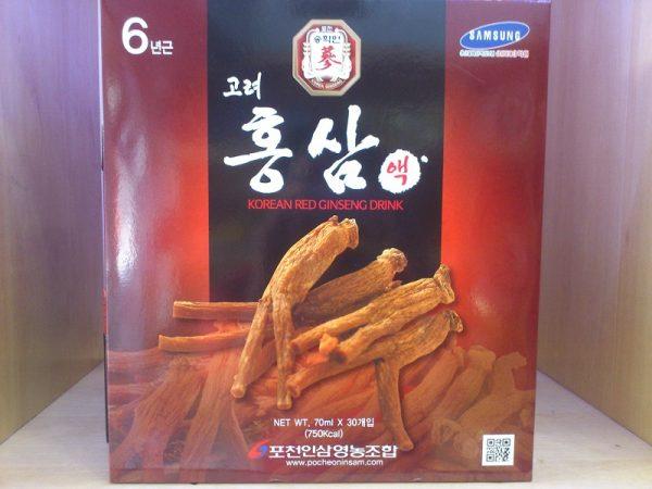 Tinh chất hồng sâm hàn quốc Pocheon - Korean Red Ginseng Drink