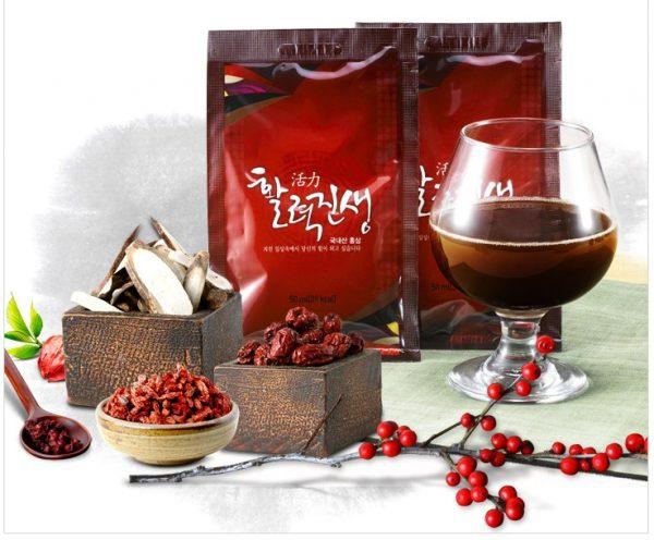 Chiết xuất hồng sâm Daedong 30 gói x 50ml - Duham Ginseng Vitality