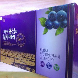 Chiết xuất hồng sâm việt quất Daedong - Duham Red Ginseng BlueBerry
