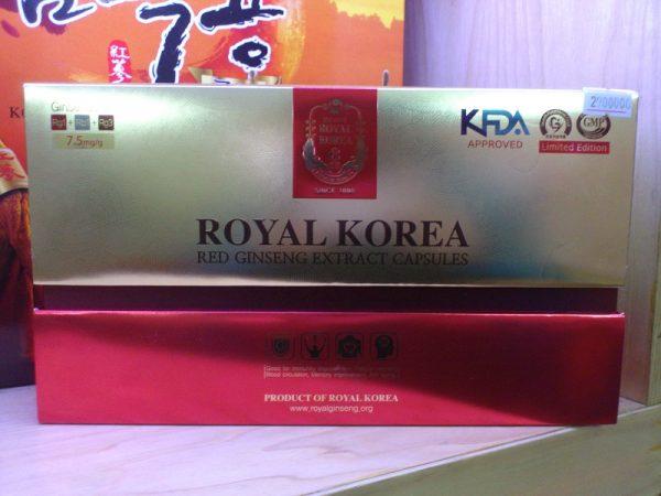 Viên hồng sâm hàn quốc Royal Korea Red Ginseng extract capsule