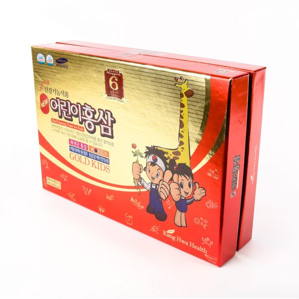 Hong sam baby kang hwa red ginseng gold kids 4
