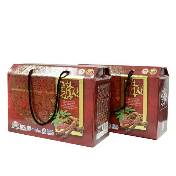 chiet xuat hong sam linh chi taewoong food 20 goi 1