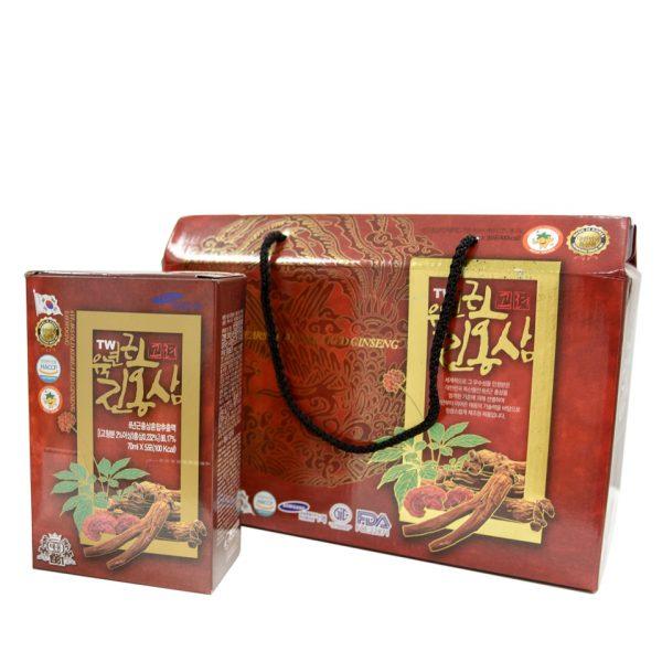 chiet xuat hong sam linh chi taewoong food 20 goi 2