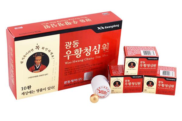 Thành phần các vị thuốc có trong viên An Cung Ngưu Hoàng Hoàn