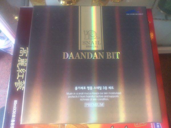 Bộ mỹ phẩm dưỡng da Daandan Bit Snail stem cell set 3