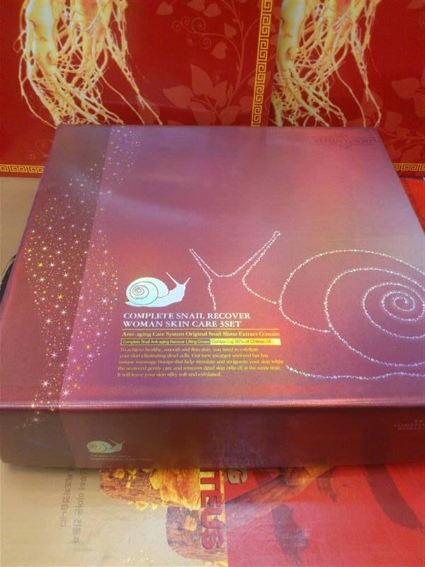 Bộ Mỹ phẩm ốc sên snail set 3