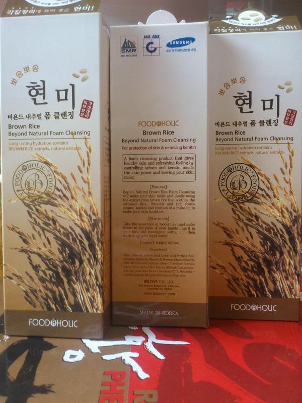 Sữa rửa mặt từ gạo Foodaholic